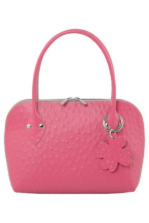 Сумка ALMINI MILANO. Цвет: розовый