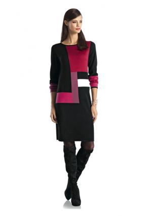 Платье RICK CARDONA by Heine. Цвет: черный/красный