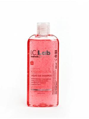 Шампунь Жидкий Шелк I.C.Lab Individual cosmetic. Цвет: малиновый