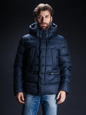 Зимняя куртка Clasna. Цвет: синий