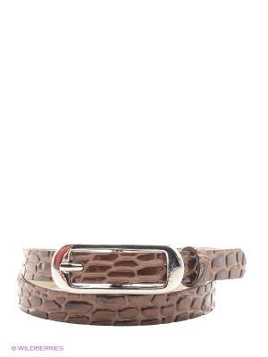 Ремень Vittorio Richi. Цвет: коричневый