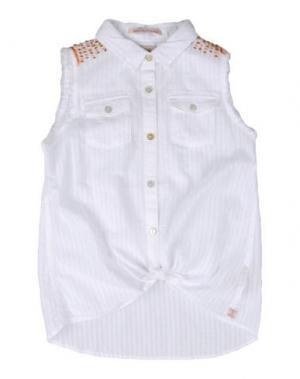 Pубашка SCOTCH R'BELLE. Цвет: белый