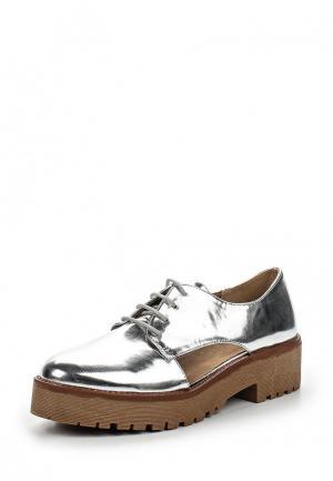 Ботинки Corina. Цвет: серебряный