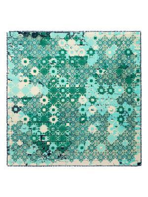 Платок Eleganzza. Цвет: зеленый, кремовый, светло-голубой