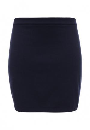 Юбка Milana Style. Цвет: синий