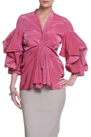 Блуза Albino. Цвет: розовый