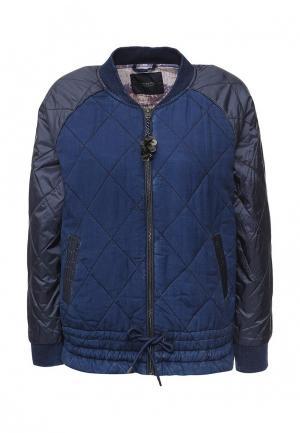 Куртка утепленная Scotch&Soda. Цвет: синий