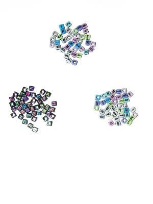Кубики для поделок Bizon. Цвет: черный, белый