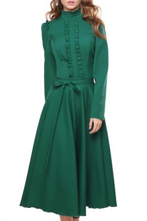 Платье MARICHUELL. Цвет: зеленый