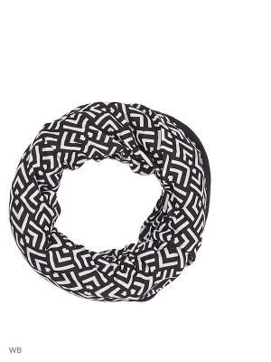 Бандана BUFF REVERSIBLE POLAR GAWA MULTI / BLACK. Цвет: черный, белый
