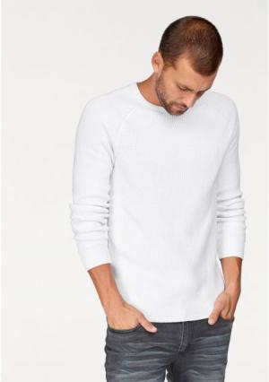 Пуловер JOHN DEVIN. Цвет: белый