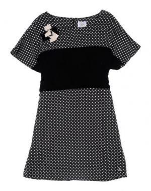 Платье ILLUDIA. Цвет: черный