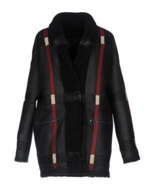 Пальто SPRUNG FRERES. Цвет: черный