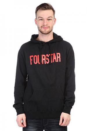 Толстовка  League Black Fourstar. Цвет: черный