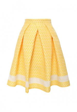 Юбка adL. Цвет: желтый