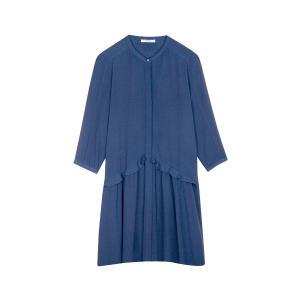 Платье с воланами на талии ADONIA SESSUN. Цвет: синий