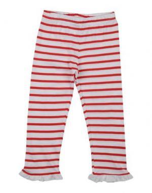 Повседневные брюки LES PARROTINES. Цвет: красный