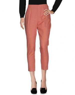 Повседневные брюки MARIAGRAZIA PANIZZI. Цвет: красный