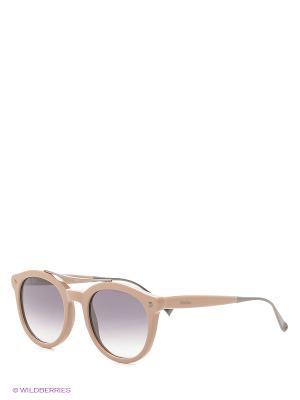 Солнцезащитные очки MAXMARA. Цвет: темно-бежевый
