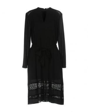 Платье до колена LALA BERLIN. Цвет: черный