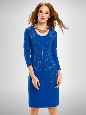 Платье PELICAN. Цвет: синий