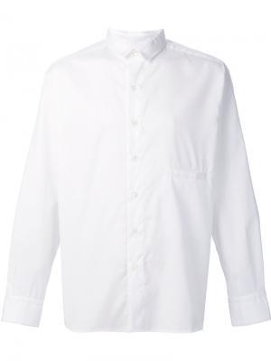 Классическая рубашка Death To Tennis. Цвет: белый