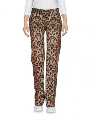 Повседневные брюки ODI ET AMO. Цвет: бежевый
