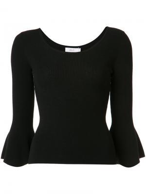 Джемпер с расклешенными рукавами A.L.C.. Цвет: чёрный