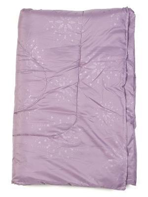 Одеяло всезенное 1,5сп, Sharm classic Jardin. Цвет: сиреневый