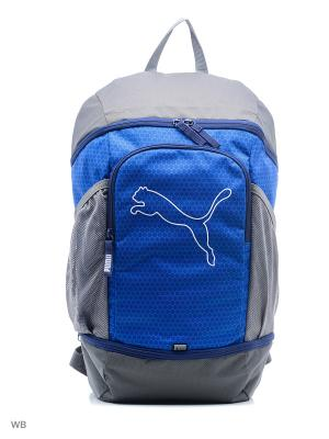 Рюкзак Echo Backpack PUMA. Цвет: голубой, серый