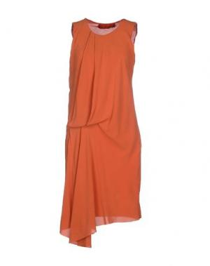 Короткое платье NICOLAS & MARK. Цвет: оранжевый