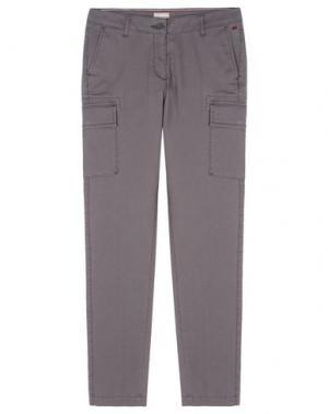 Повседневные брюки NAPAPIJRI. Цвет: свинцово-серый