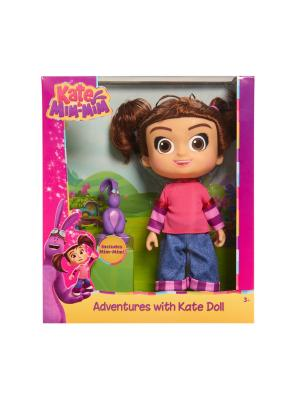 Игрушка Катя и Мим-Мим, Кукла с аксессуарами. Kate & MimMim. Цвет: фиолетовый