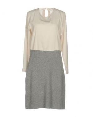 Платье до колена SITA MURT/. Цвет: слоновая кость