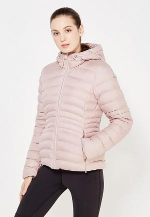 Куртка утепленная Reebok. Цвет: розовый