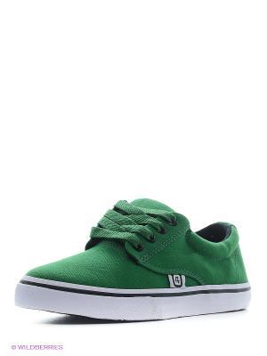 Кеды 4U. Цвет: серо-зеленый