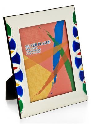 Фоторамка Яркие краски Glory Design. Цвет: синий, зеленый, серебристый