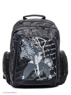 Рюкзак ANTAN. Цвет: черный, серый