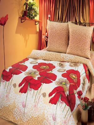 Комплект постельного белья Арт Постель. Цвет: бежевый