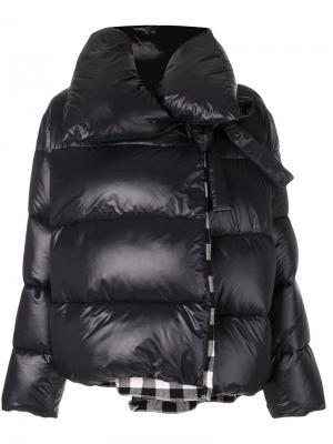 Стеганая куртка Hache. Цвет: чёрный