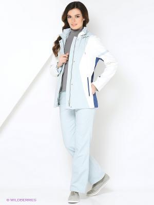 Спортивный костюм KARINA Maritta. Цвет: бирюзовый
