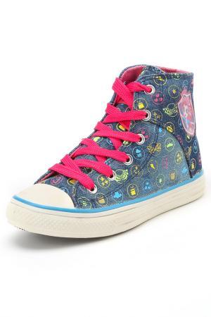 Ботинки EQUESTRIA GIRLS. Цвет: синий