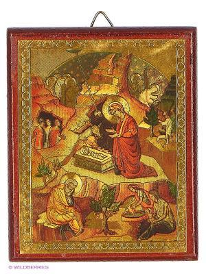 Голограмма иконы  Рождество Христово Bethlehem Star. Цвет: коричневый