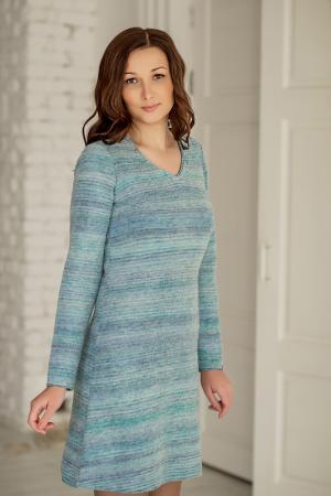Платье Woolhouse. Цвет: голубой