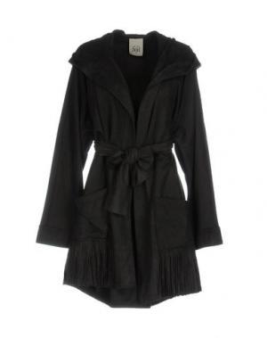 Легкое пальто JIJIL. Цвет: черный
