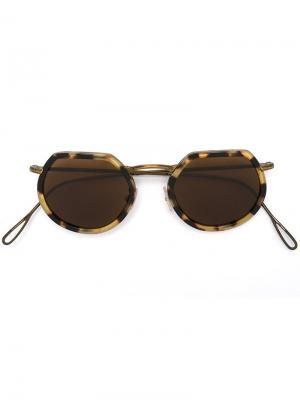 Солнцезащитные очки Pierre Kyme. Цвет: коричневый