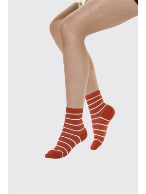 Носки VOGUE. Цвет: красный