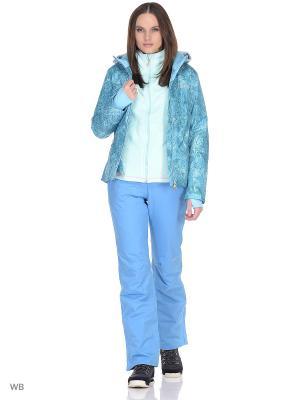 Куртка сноубордическая Volkl. Цвет: синий