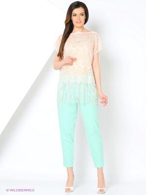 Блузка Migura. Цвет: персиковый