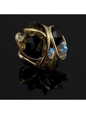 Кольцо Andrea Marazzini. Цвет: золотистый, черный
